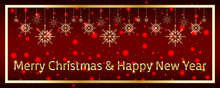Christmas And New Year Festive...