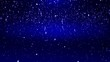 Particles blue dust abstract light motion titles cinematic background loop