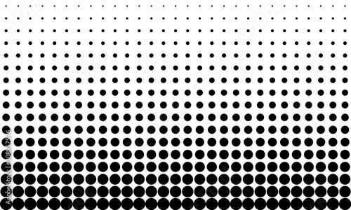 Gradient Dots Background Canvas-taulu