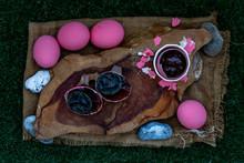 Pink Century Eggs (Pidan Eggs)...