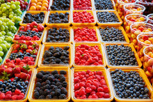 Fresh Berries At Display On Th...
