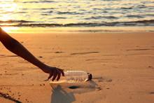 Plastic Garbage, Foam, And Dir...