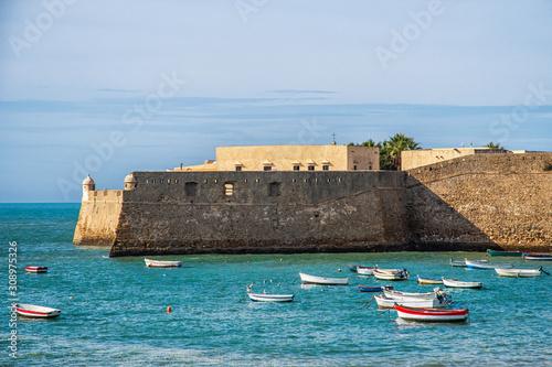 Castillo de Santa Catalina in Cádiz