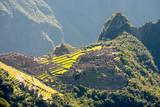 Fototapeta Na ścianę - Machu Picchu, seen from the Sun Gate - Peru