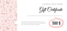 Gift Voucher For Kids And Baby...