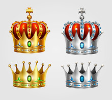 Royal Crown Jewelry Decoration...