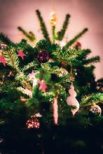 Weihnachtsbaum In Frechen Farben