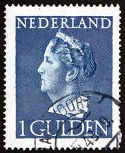 Postage Stamp Netherlands 1946...