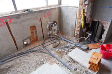 Real Housing Reform: Detailed Plumbing Work For Complete Renovation Of Old Pipes (for Water And Heating)