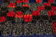 Wild Berries On Display