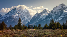 Peaks Of The Teton Mountain Ra...