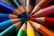 Group Of Colored Pencils Lie I...