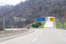 Smoky Mountains View Near Ashe...