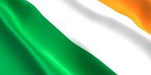 Ireland Flag 3D