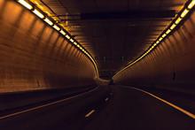 Highway Dark Road Near Glenwoo...