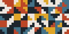 Abstract Geometric Pattern Art...