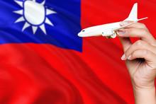 Taiwan Travel Concept. Woman H...