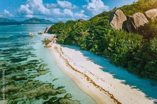 Fotografie, Obraz Seychelles, La Digue