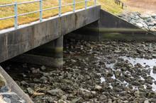 Tidal Channel On Acushnet River