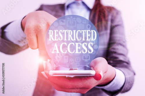Photo Handwriting text writing Restricted Access