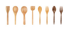 Wooden Spoon And Fork Set Coll...