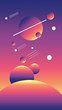 canvas print picture - planets