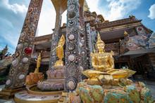 The Four Foundations Of Mindfulness , Beautiful Religious Architecture Of Wat Prathat Phasornkaew, Khao Kho Phetchabun Thailand