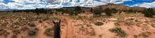 Beautiful, Rugged, Panoramic Desert Landscape At Ghost Ranch, On Horseback