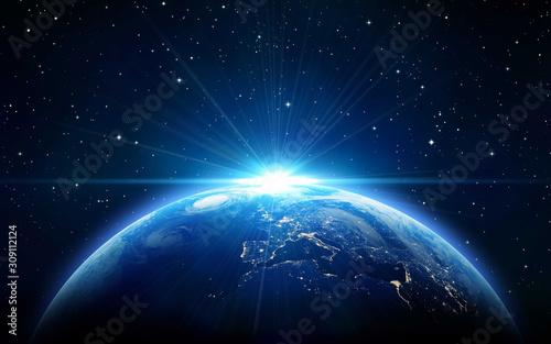 Fototapeta planet in space obraz