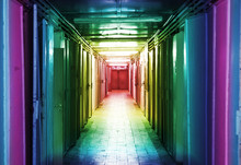 The Long Hallway Rainbow Toning