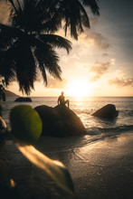Watching Sunset In Paradise
