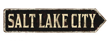 Salt Lake City Vintage Rusty M...