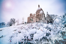 Winter Snow Day View Sacre-Coe...
