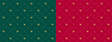 Dark Emerald Green And Red ( M...