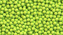 Huge Pile Of Tennis Balls