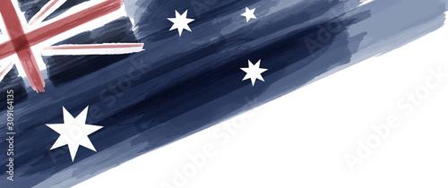 Obraz na plátně Australia National Day