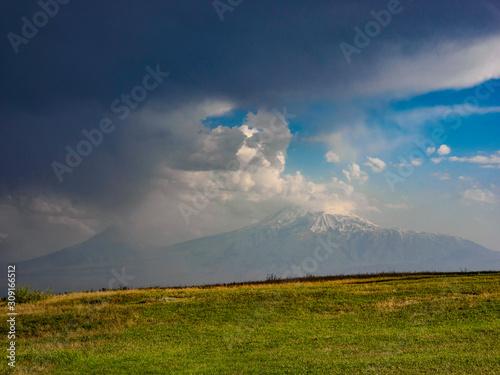 Photo Haghpat Kloster Umgebung kesselfoermiges Tal Norden von Armenien Prvinz Lori