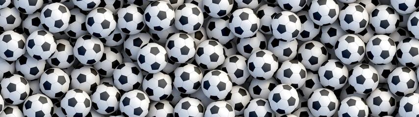 Pozadina nogometnih lopti