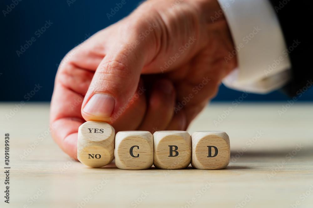 Fototapeta CBD legalization and use