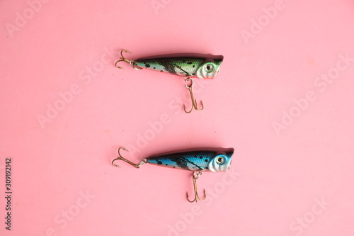 Fotografía Saragossa Spain. September 18, 2019 fishing lures