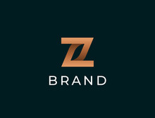 Abstract Letter Z Logotype. Modern Logo Idea Sign. Universal Emblem Vector Icon.