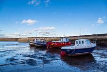 Staithes Harbour Near Whitby North Yorkshire