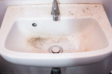 Very Dirty Hands Wash Basin In...
