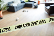 Crime Scene Police Lockup Afte...