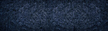 Dark Deep Blue Wide Background...
