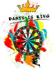 Dart Sport Sign, Symbol For Th...