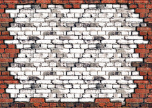 Brick Wall Frame For Design