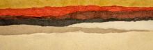 Abstract Desert Or Badlands La...