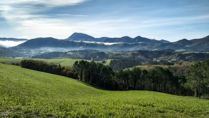 Morgenstimmung im Gebirge