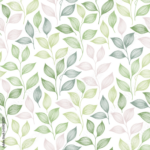 wrapping-tea-leaves-pattern-seamless-vector-illustration